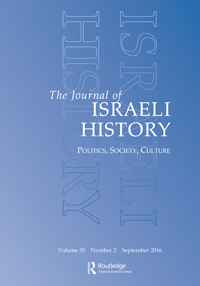 The Development Authority and the Formative Years of the Israeli Land Regime